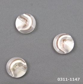 Nasturi cu Picior JU244, Marimea 34 (100 buc/pachet) Nasturi Plastic cu Picior 0311-1147, Marimea 36 (100 buc/pachet)