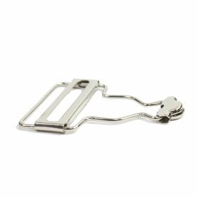 Catarame Metalice cu Strasuri (10 perechi/punga)Cod:N11078 Catarame Metalice, 38 mm (100 buc/pachet)