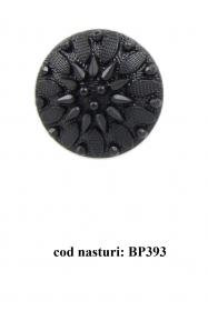 Nasturi cu Picior  S88, Marimea 16, Aurii (100 buc/pachet) Nasturi Plastic cu Picior BP393,  Marimea 36  (100 buc/pachet)