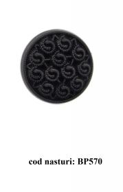 Nasturi cu Picior DPY0528/44 (100 bucati/punga) Nasturi Plastic cu Picior BP570,  Marimea 48  (50 buc/pachet)
