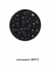 Nasturi cu Picior BT0026 (10 buc/pachet) Nasturi Plastic cu Picior BP573,  Marimea 28  (100 buc/pachet)