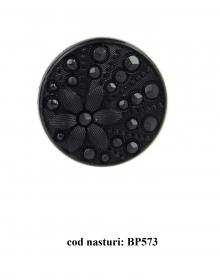 Nasturi cu picior 0314-9142/24 (100 bucati/punga) Nasturi Plastic cu Picior BP573,  Marimea 36  (100 buc/pachet)