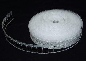 Agatatori cu Inel - Forma Semicerc  ( 5000 bucati/cutie )  Tag Pins , 19mm, White  (5,000 pcs/box) SYSTEM