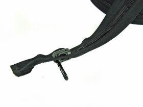 Fermoare Spiralate, Detasabile, lungime 60 cm (50 bucati/pachet) Fermoare Detasabile, Spiralate, Cursor Reversibil, lungime 90 cm (50 buc/pachet) Negru