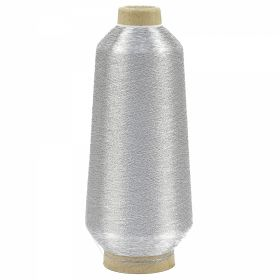 Ata Metalica Ata Metalica pentru Brodat, Argintie, 125 gr/con