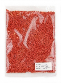 Margele sticla 100 gr Margele Sticla #45 (100 gr/punga)