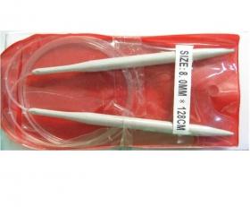 Ace, Andrele, Bolduri si Crosete Andrele Circulare, marime 8.0 mm (10 buc/cutie)