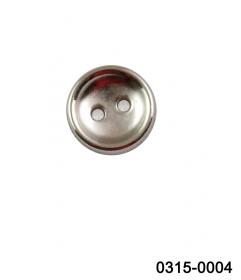 Nasture Plastic Metalizat JU932, Marimea 40, Antic Brass (100 buc/punga)  Nasturi cu Doua Gauri 0315-0004/16 (200 bucati/punga)