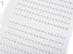 Aplicatie Vestimentara  (10 bucati/pachet)  Termotransfer Metalic Folie, 3x3 mm (5 folii/set)Cod: 220816