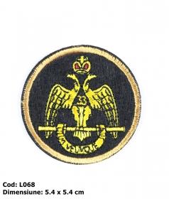 Embleme Termoadezive M8276-1 Embleme Termoadezive L068 (12 bucati/pachet)