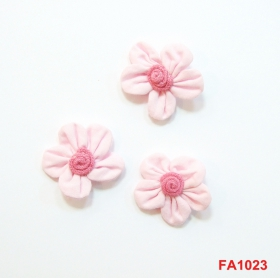Aplicatii Textile Flower Sew-On Accesory, diameter 3 cm (12 pcs/pack) Code: FA1023