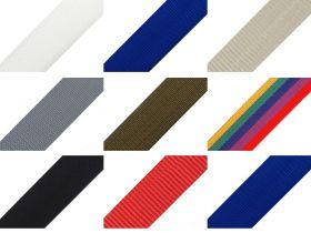 Chinga elastica, textila sau polipropilena Chinga Polipropilena, 50 mm, Color (25 metri/rola)