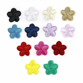 Embleme Termoadezive (12 bucati/pachet)Cod: M8276-2 Embleme Termoadezive, Floare (25 bucati/pachet)Cod: F12583