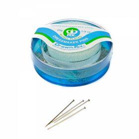 Bolduri cu Cap din Plastic, Albe, Asortate, Lungime 46 mm (36 rozete/cutie)  Bolduri cu Buretiera, Lungime 35mm (12 cutii/set)