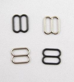 Inchizatori Sutien, 15 mm, Auriu (100perechi/pachet)  Reglor Sutien, 10 mm, Negru, Argintiu (100 bucati/pachet) 31610