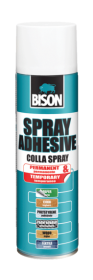 Spray Adeziv Temporar, 500 ml Spray Adeziv Pulverizabil BISON, 500 ml