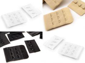 Bretele Negre Sutien (10 perechi/pachet) Prelungire Sutien, Latime 40 mm, 3 Randuri (12 perechi/pachet) 070110