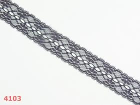 Dantela, latime 5.5 cm (pret/metru) Se vinde la rola ! Cod:WTP938 Dantela, latime 35 mm, Gri Petrol (25 metri/rola)Cod: 4103
