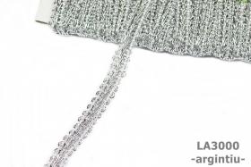 Pasmanterie LA0031 Gri (10 yards/rola)  Banda Decorativa LA3000 ( 15 metri/rola )