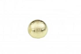 Nasturi Metalizati cu Patru Gauri  S507/40 (100 buc/pachet) Nasturi Plastic Metalizati cu Picior ART11-92, Marime: 18L (100 bucati/punga)