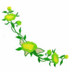 Embleme Termoadezive ( 10 bucati/pachet) Cod: 390678 Embleme Termoadezive, Floare (12 buc/pachet)Cod: M6114