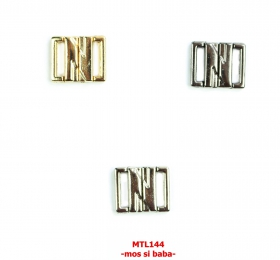 Reglor Sutien, 12 mm, Negru (100 bucati/pachet) Inchizatori Sutien, 12 mm (100 perechi/pachet) MTL 144