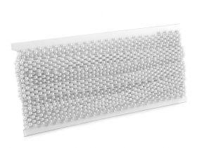 Perle Sirag 5mm, Albe (12 siraguri/pachet)  Perle Metraj 14mm (9 metri/rola) COD 220910