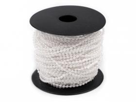 Perle Metraj, diametru 5 mm (25 metri/rola) Cod: 200862 Perle Metraj 3mm (43 metri/rola) Cod: 130123