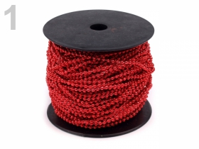 Perle Sirag, 3 mm (12 siraguri/pachet) Perle Metraj 3mm (43 metri/rola) Cod: 130123