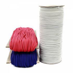 Elastic pentru Confectii, 5 mm (150 metri/rola) Elastic Rotund, Ø 2 mm (50 metri/rola)