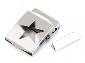Catarame Metalice Catarama si Terminatie pentru curea, 40 mm, (10 bucati/pachet) Cod: 740777