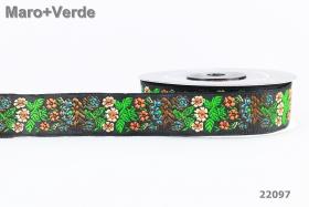 Banda Decorativa Poliester - 10 mm ( 86 metri/rola ) Banda Decorativa Poliester Tesuta  (10 metri/rola) Cod: 22097