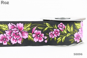 Banda Ripsata Poliester, latime 10 mm (100 metri/rola) Banda Decorativa Poliester Tesuta  (10 metri/rola) Cod: 50096