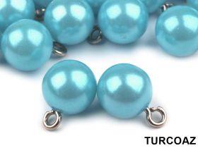 Perle Sirag Perle cu buclă, Ø10 mm  (25 bucati/pachet)