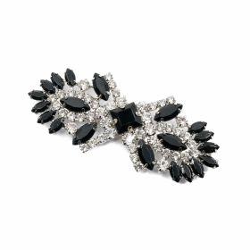 Catarama DCK053-40MM (100 bucati/punga) Nickel Catarame cu strasuri N19331 (6 bucati/punga)