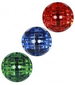Nasturi Plastic cu Doua Gauri 0312-0111/40 (100 bucati/punga) Culoare: Alb Nasturi cu Doua Gauri 3238/15MM (144 bucati/punga)
