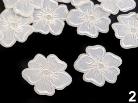 Embleme Termoadezive, Model: Fata (25 bucati/pachet)Cod: M40111 Embleme Termoadezive Brodate, Floare (10 buc/pachet) Cod: 390602