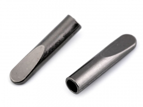 Capete Snur (100 buc/punga)Cod: MTL119 Capat Snur Metalic, Ø4 mm, Gunmetal (25 bucati/pachet) Cod: 160067