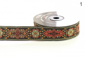 Banda Decorativa Poliester Radu 10 mm ( 100 metri/rola ) Banda Decorativa Tesuta, Poliester, 27mm (10 metri/rola) Cod: 28591