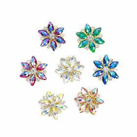 Aplicatii cu Cristale Aplicatii cu Strasuri din Sticla, 5.5cm (5 bucati/pachet) Cod: BW-11