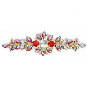 Aplicatii cu Cristale Aplicatii cu Strasuri din Sticla, 18.5x5.5cm (1 buc/pachet)Cod: BW-46