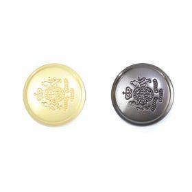 Nasturi cu Picior S633, Marimea 34 (100 buc/pachet)  Nasturi Metalici cu Picior, marimi: 24L, 32L (100 bucati/pachet) Cod: MC174