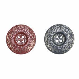Nasturi Plastic cu Doua Gauri 0312-0111/48 (100 bucati / punga) Culoare: Negru 4 Holes Buttons, size: 44L, 48L (50 pcs/pack) Code: S238