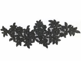 Aplicatii Vestimentare Aplicatii Textile cu Strasuri, lungime 33.2 cm (5 bucati/pachet)Cod: Z-781