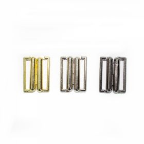 Inchizatori Sutien, 12 mm, Argintiu (100 bucati/pachet)  Inchizatori Sutien, 14 mm (100 perechi/pachet)Cod: MGT14