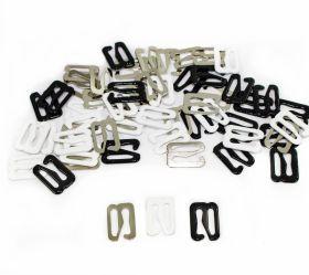 Accesorii Imbracaminte si Lenjerie Intima Carlige pentru Sutien, latime 10 mm (100 bucati/pachet)Cod: TK750