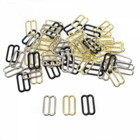 Inele, Reglori, Inchizatori Reglor Sutien, gaura de trecere 15 mm, Metal (100 bucati/punga)Cod: MA15