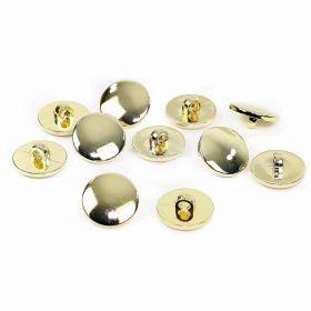 Nasturi cu Doua Gauri 11HB-H618, Marimea 34, Argintiu(100 buc/pachet) Nasturi Metalizati, cu Picior, din Plastic (144 bucati/pachet) Cod: B3101