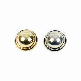 Nasture Plastic Metalizat JU895/40 (100 buc/punga) Nasturi Metalizati, cu Picior, din Plastic, marime 24 (144 bucati/pachet) Cod: B6314