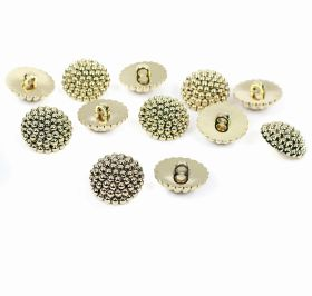 Nasturi cu Doua Gauri 11HB-H618, Marimea 34, Argintiu(100 buc/pachet) Nasturi Metalizati, cu Picior, din Plastic, marime 34 (144 bucati/pachet) Cod: B6301